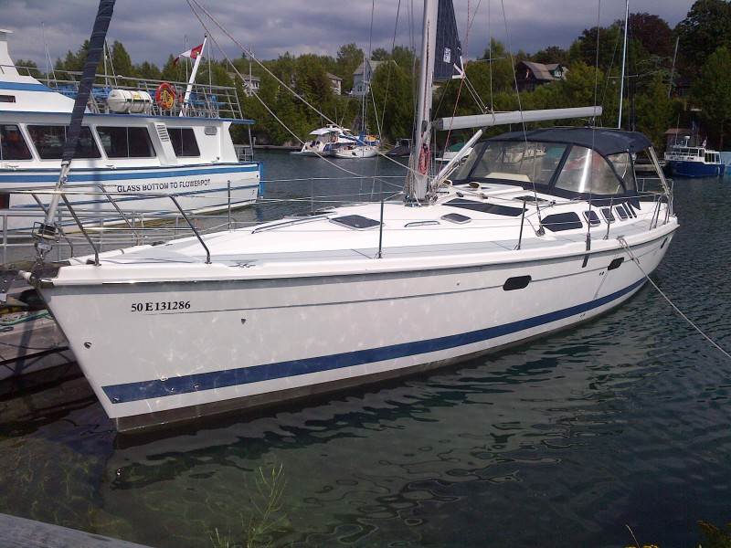 Photo of Hunter 460 Boat for Sale Tobermory Marine Canada