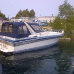 Photo of Welcraft 34 Boat For Sale Docked in harbour.