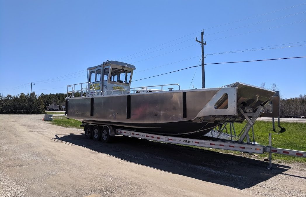 2018 Stanley 34' landing craft