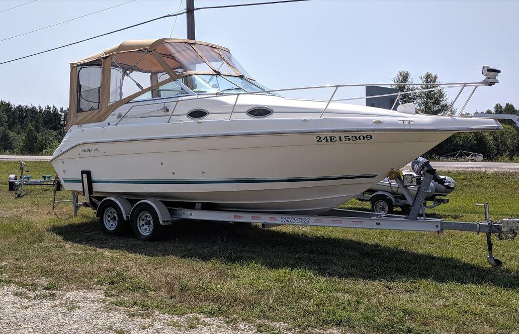 1995 250 Sea Ray